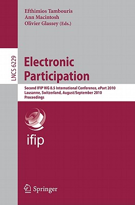 Electronic Participation By Tambouris, Efthamios (EDT)